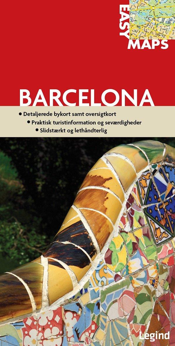 Image of   Easy Maps - Barcelona - Conny Mikkelsen - Bog