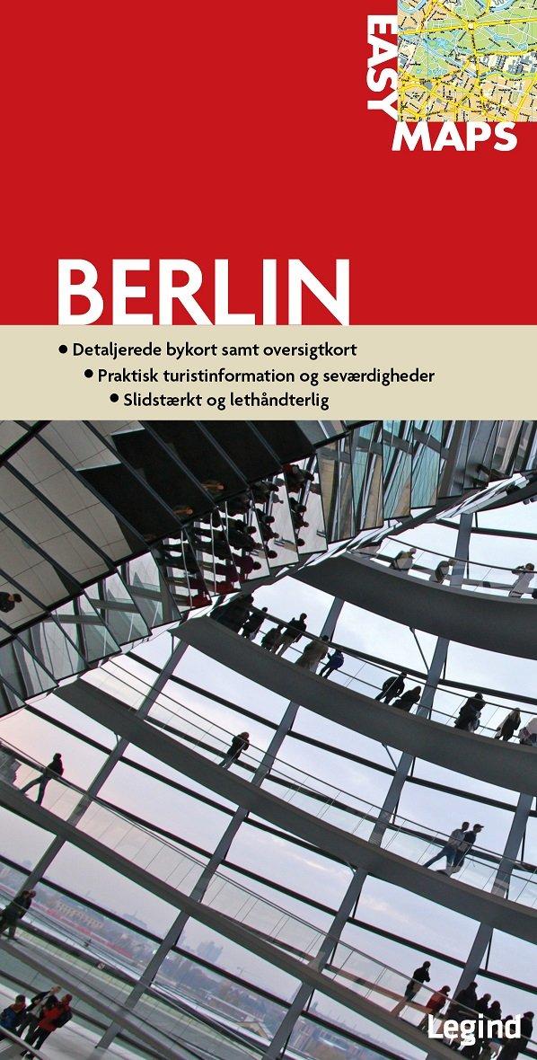 Image of   Easy Maps - Berlin - Conny Mikkelsen - Bog