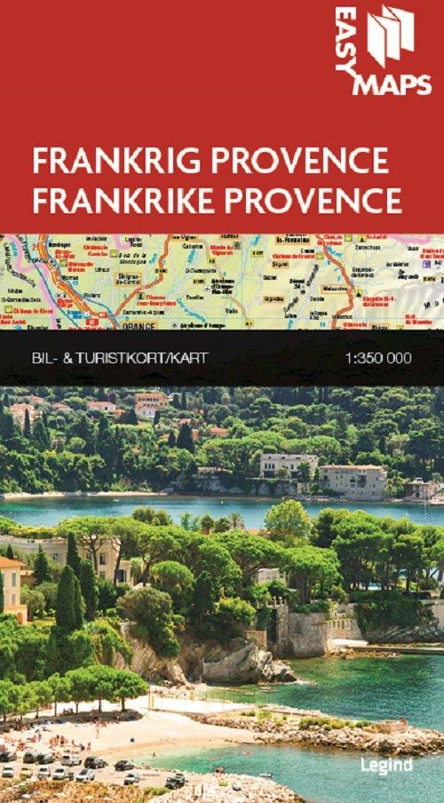 Easy Maps - Provence - Legind A - Bog