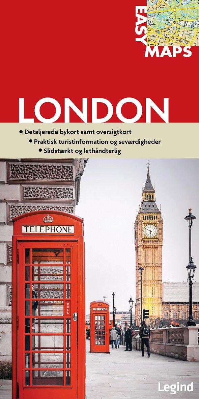Easy Maps - London - Conny Mikkelsen - Bog