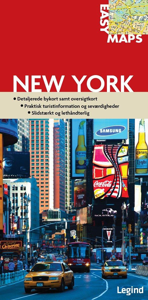 Image of   Easy Maps - New York - Conny Mikkelsen - Bog