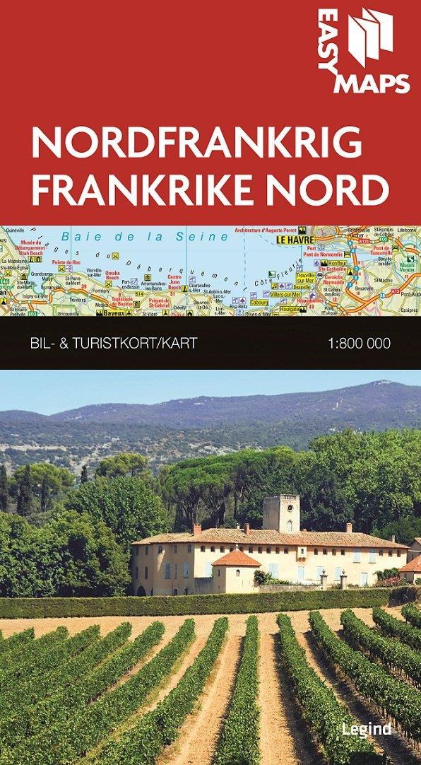 Easy Maps - Nordfrankrig - Legind A - Bog