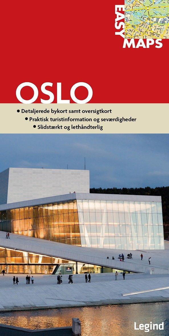 Easy Maps - Oslo - Legind A - Bog