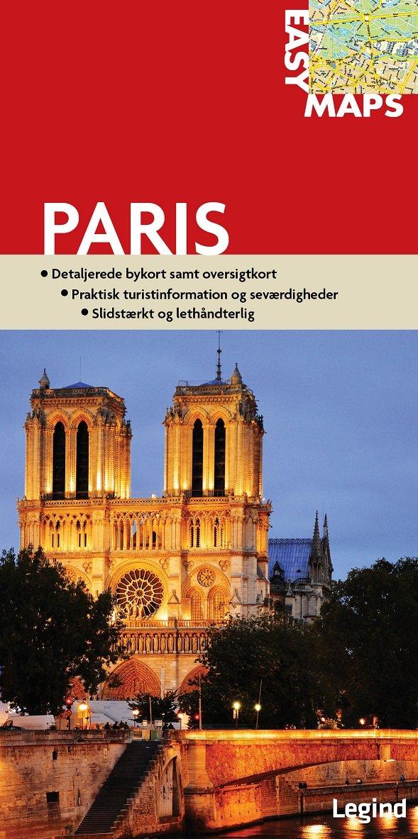 Image of   Easy Maps - Paris - Conny Mikkelsen - Bog