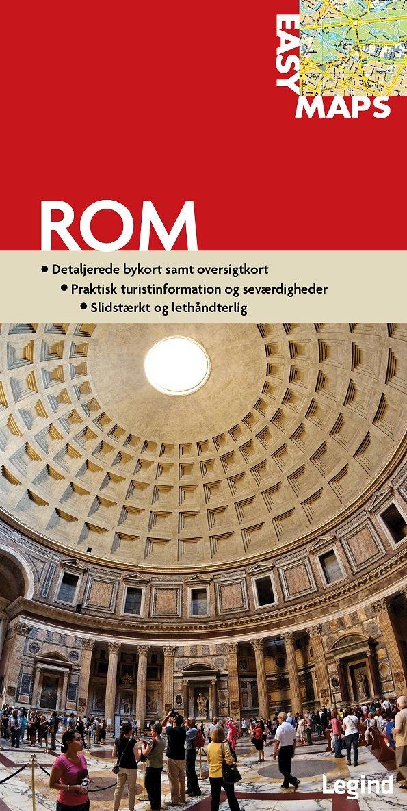 Easy Maps - Rom - Conny Mikkelsen - Bog