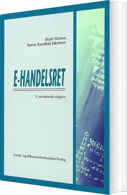 Image of   E-handelsret - Ruth Nielsen - Bog
