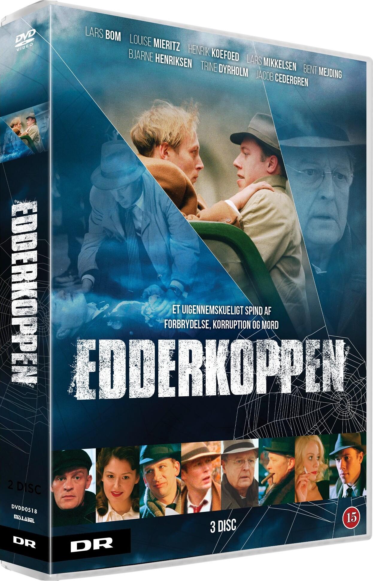 Image of   Edderkoppen - Dr Tv-serie - DVD - Tv-serie