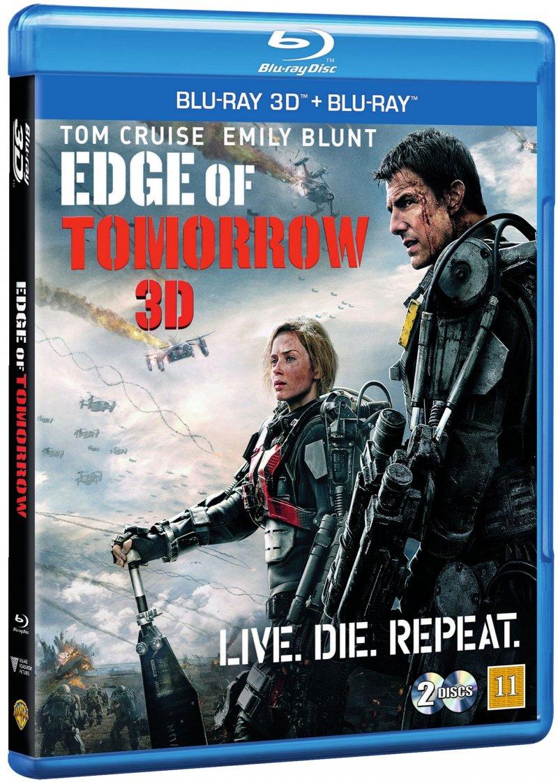 Image of   Edge Of Tomorrow - 3D Blu-Ray