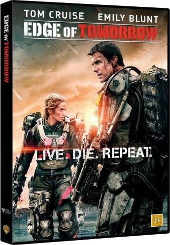 Image of   Edge Of Tomorrow - DVD - Film