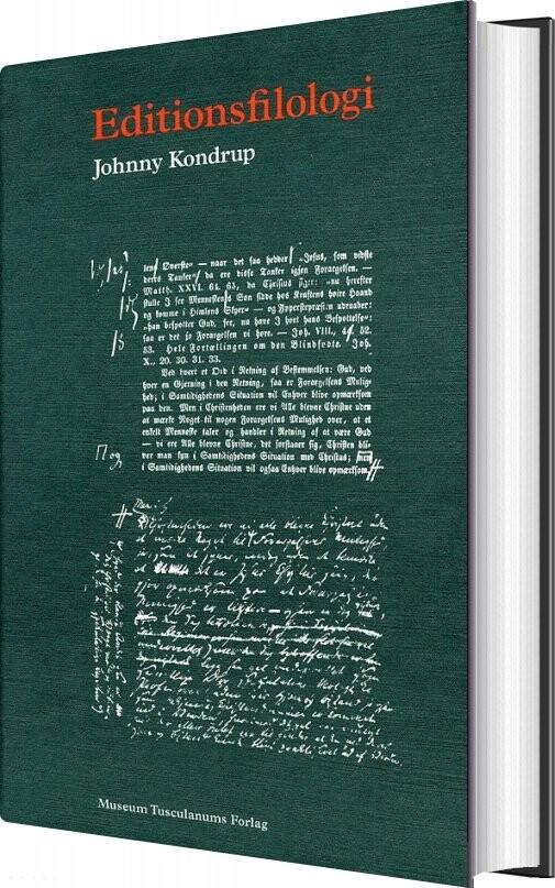 Image of   Editionsfilologi - Johnny Kondrup - Bog