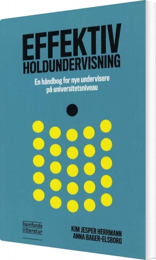 Image of   Effektiv Holdundervisning - Kim Jesper Hermann - Bog