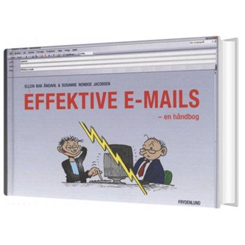 Image of   Effektive E-mails - Ellen Bak åndahl - Bog