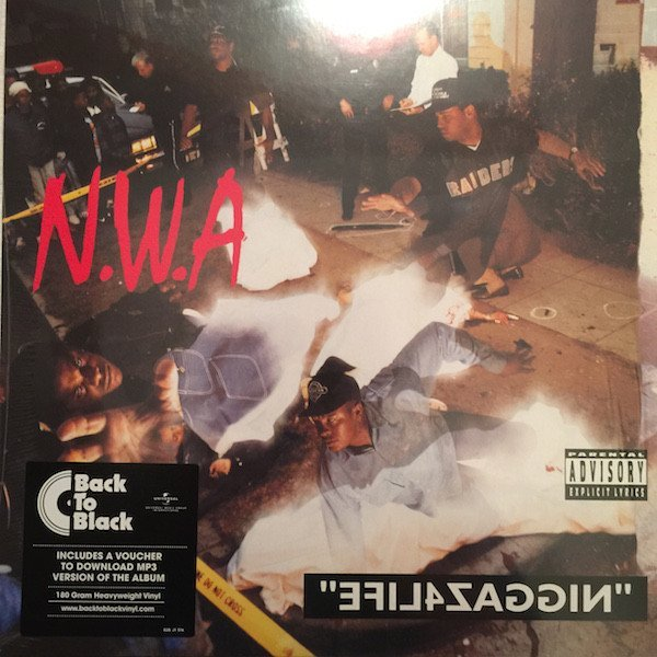 N.w.a - Efil4zaggin  (ltd. Back To Black Lp) - Vinyl / LP