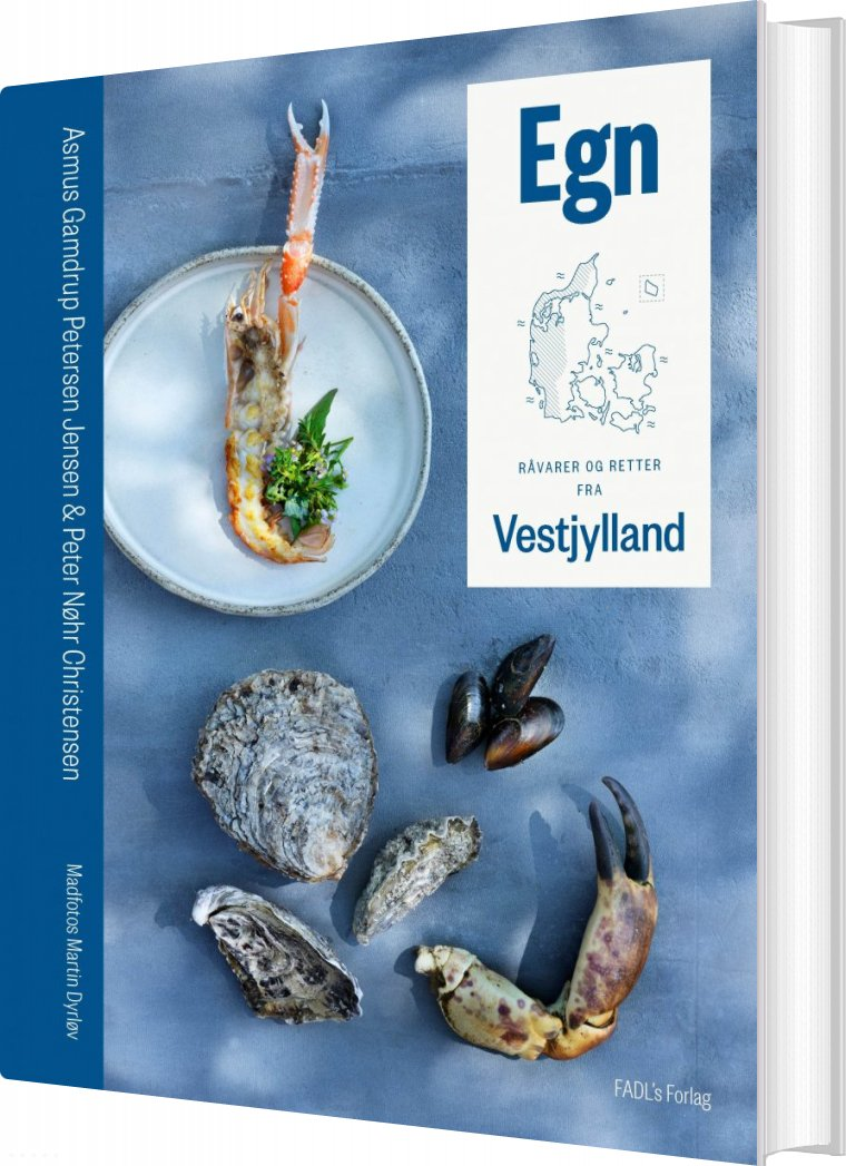 Image of   Egn: Råvarer Og Retter Fra Vestjylland - Peter Nøhr Christensen - Bog