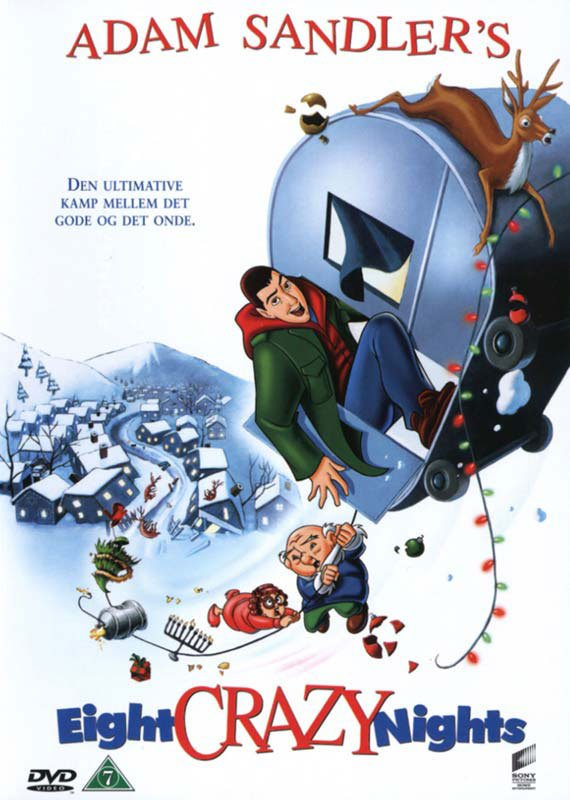 Image of   Eight Crazy Nights - DVD - Film