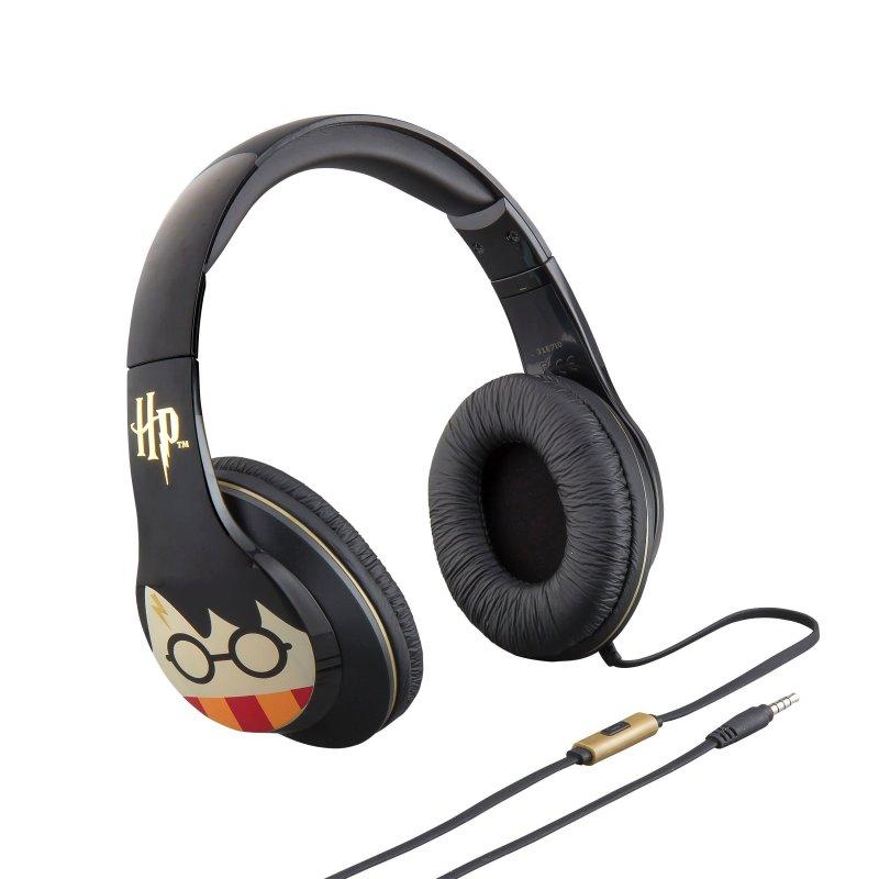 Image of   Ekids - Harry Potter - Hovedtelefoner Med Indbygget Mikrofon - Sort