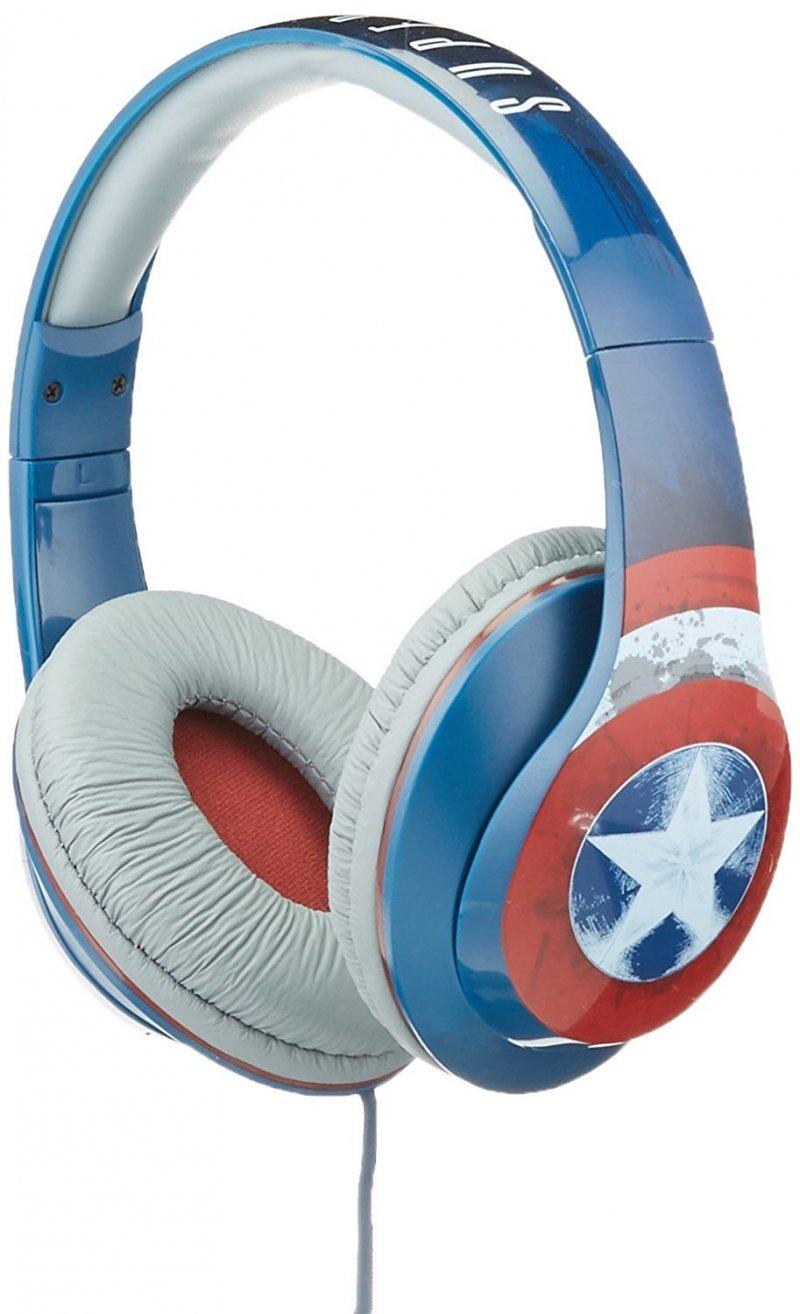 Image of   Børnehøretelefoner Captain America - Ekids