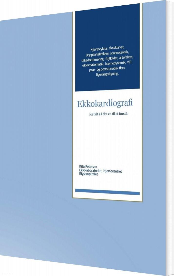 Image of   Ekkokardiografi - Rita Petersen - Bog