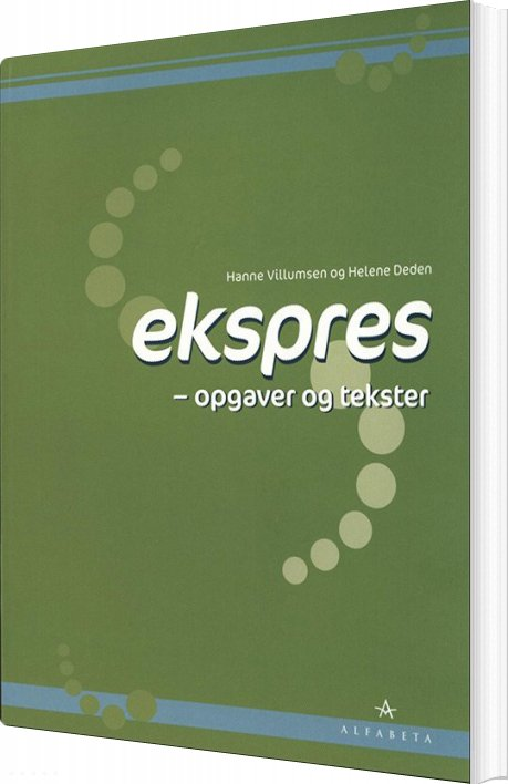 Image of   Ekspres, Opgaver Og Tekster - Hanne Villumsen - Bog