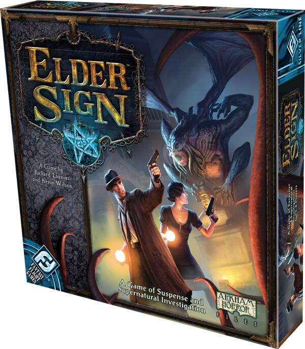 Elder Sign - Engelsk - Brætspil