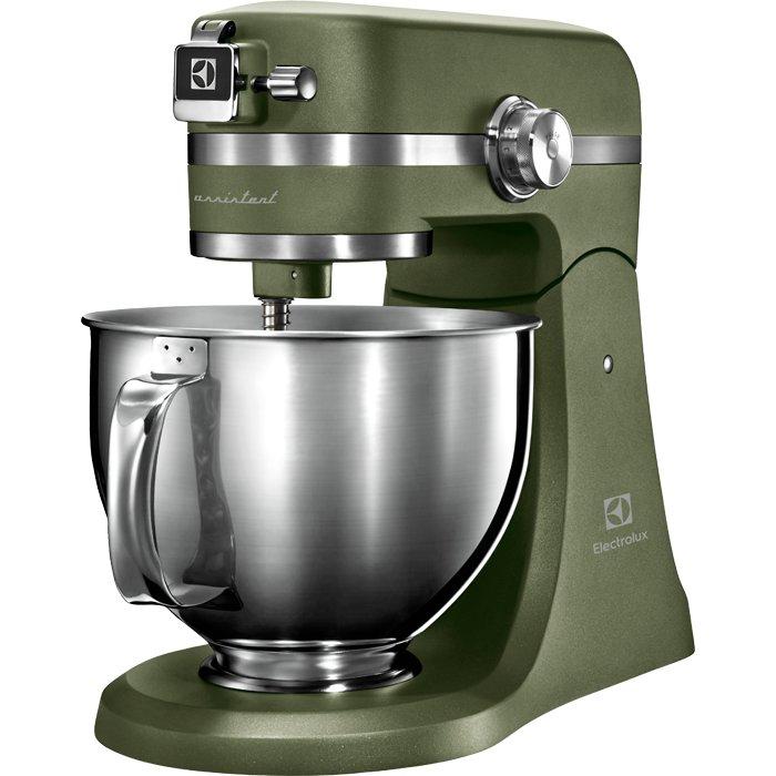 Image of   Electrolux Køkkenmaskine 1200w - Assistant Kitchen Appliance Ekm5550 - Stål