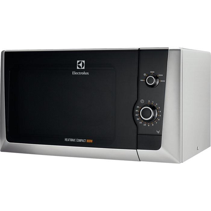 Image of   Electrolux - Mikroovn - 21l 800w - Sølv - Emm21000s
