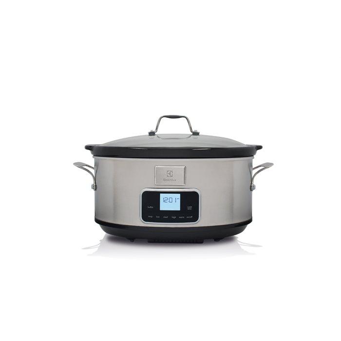 Image of   Electrolux Slow Cooker 235w - Esc7400 - Stål