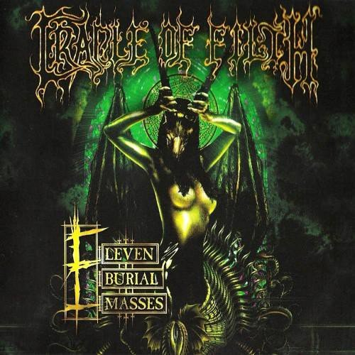 Image of   Cradle Of Filth - Eleven Burial Masses - Vinyl / LP