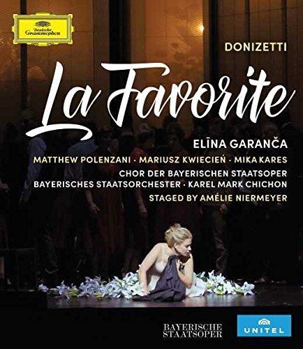 Image of   Elina Garanca Donizetti: La Favorite - Blu-Ray