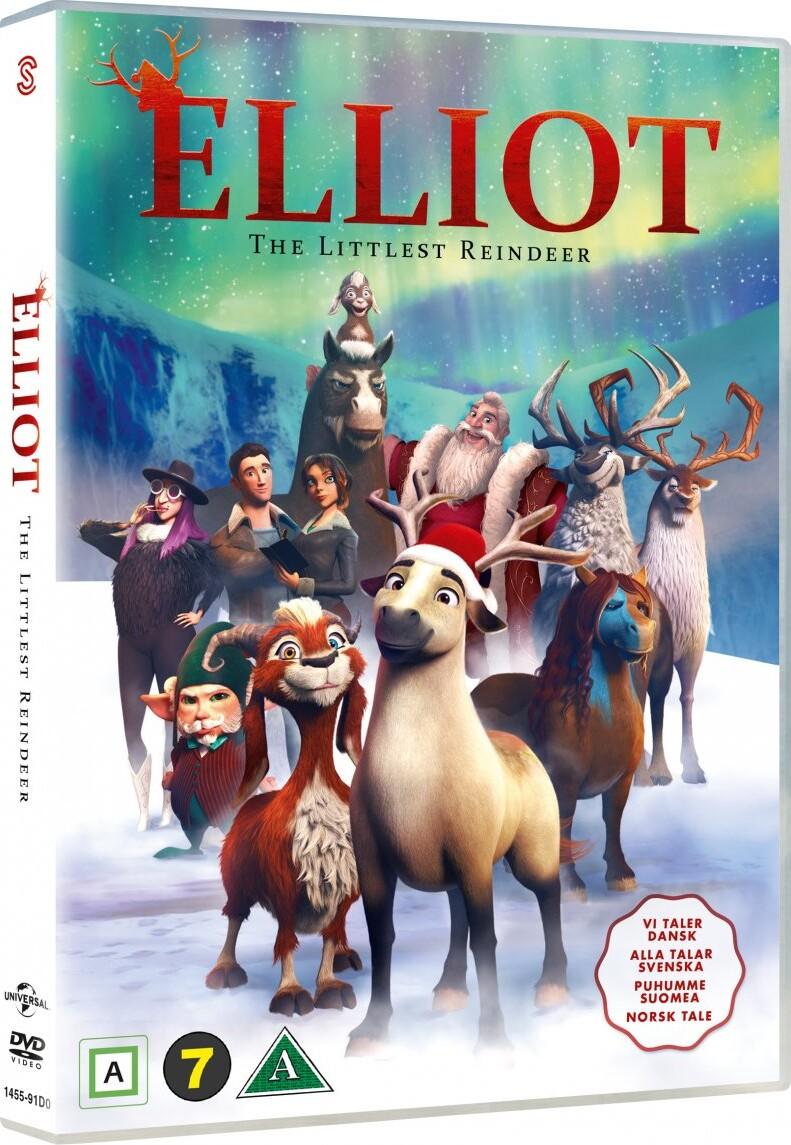 Image of   Elliot - The Littlest Reindeer - DVD - Film