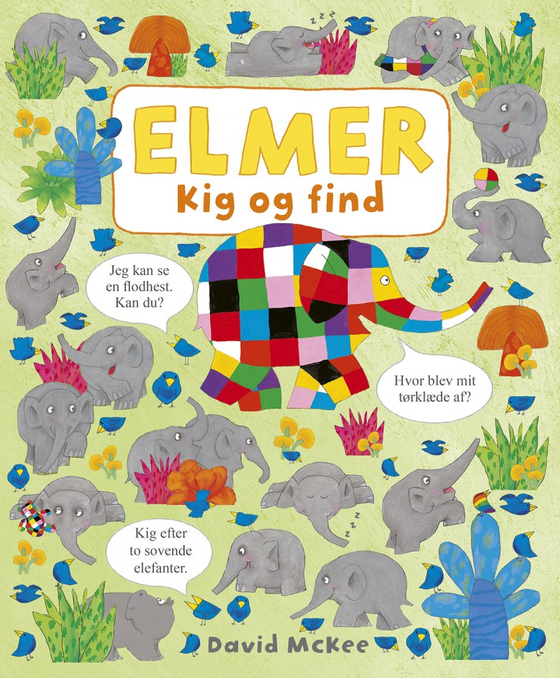 Image of   Elmer - Kig Og Find - David Mckee - Bog