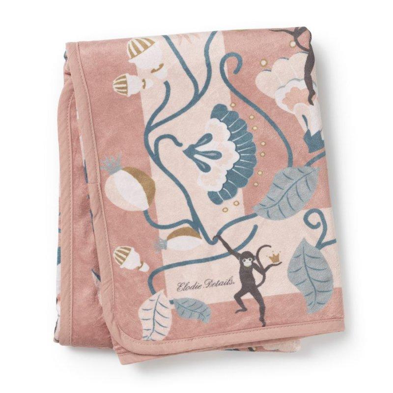 Elodie Details - Velvet Blanket - Midtnight Bells