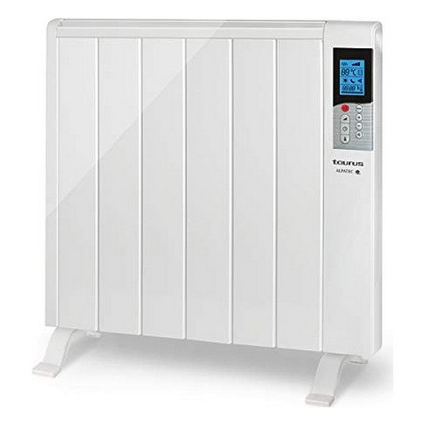 Image of   Elradiator Med Digital Termostat - Taurus - 1200w - Hvid