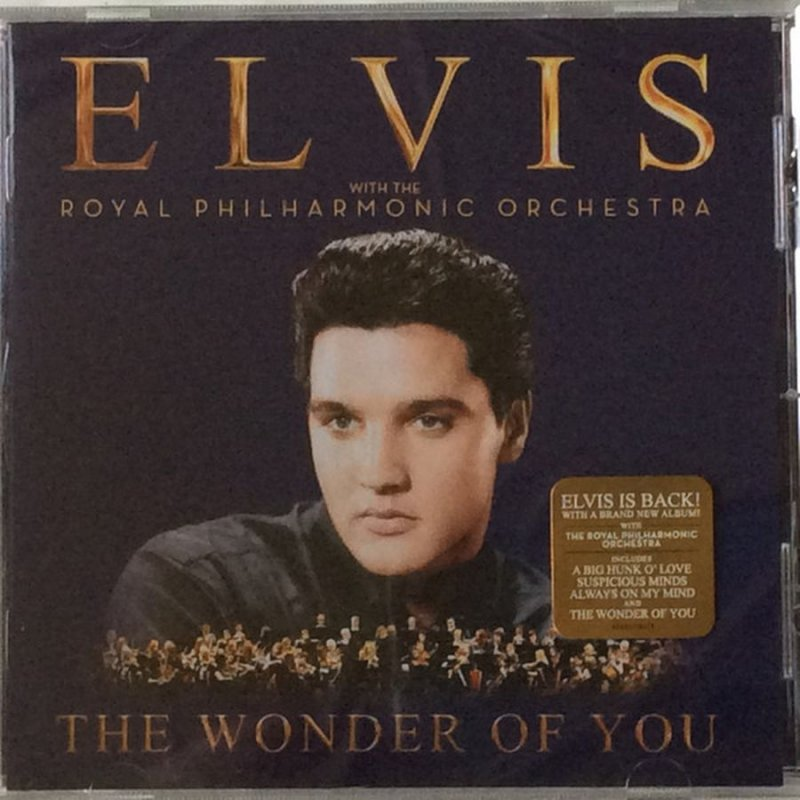 Image of   Elvis - The Wonder Of You - With The Royal Philharmonic Orchestra - CD