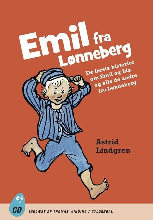 Image of   Emil Fra Lønneberg - Astrid Lindgren - Cd Lydbog