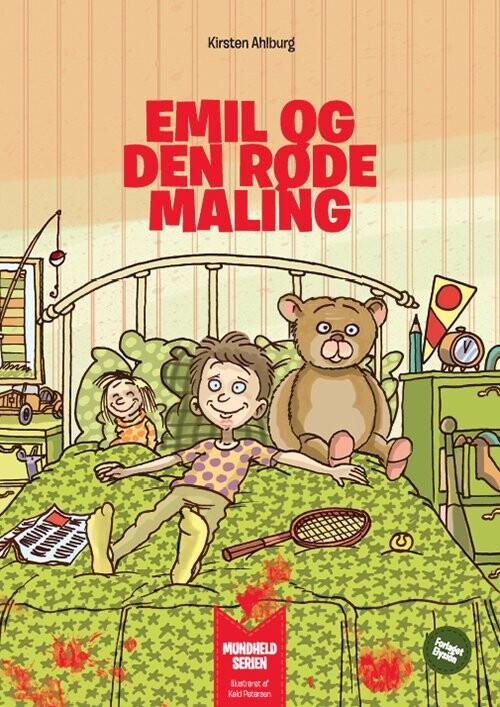 Billede af Emil Og Den Røde Maling - Lise J. Qvistgaard - Bog