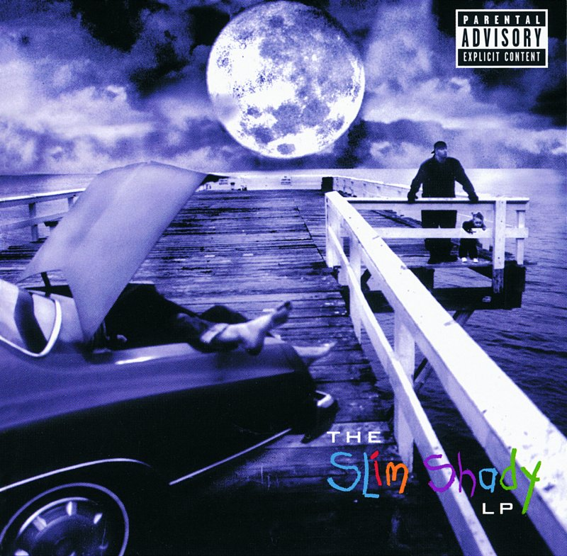 Image of   Eminem - The Slim Shady Lp - CD
