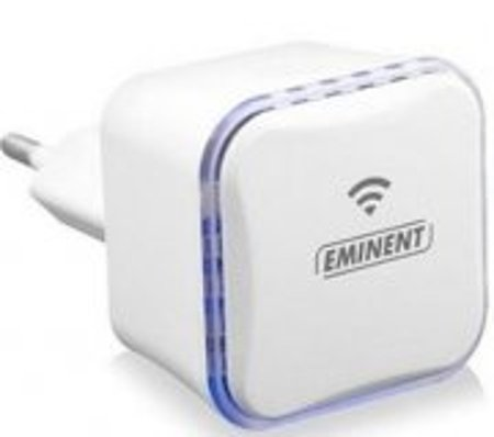 Eminent Em4594 – Wifi Access Point Extender Repeater 300 Mbps 2.4 Ghz – Hvid