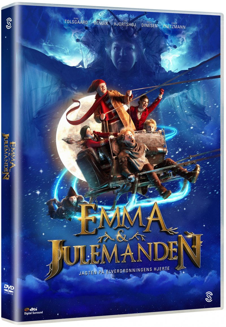 Image of   Emma Og Julemanden: Jagten På Elverdronningens Hjerte - DVD - Film