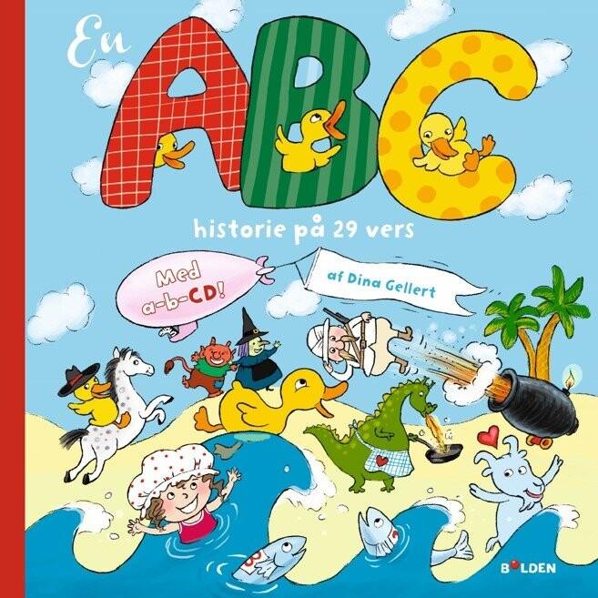 Image of   En Abc-historie På 29 Vers - Med Cd Og Plakat - Dina Gellert - Bog