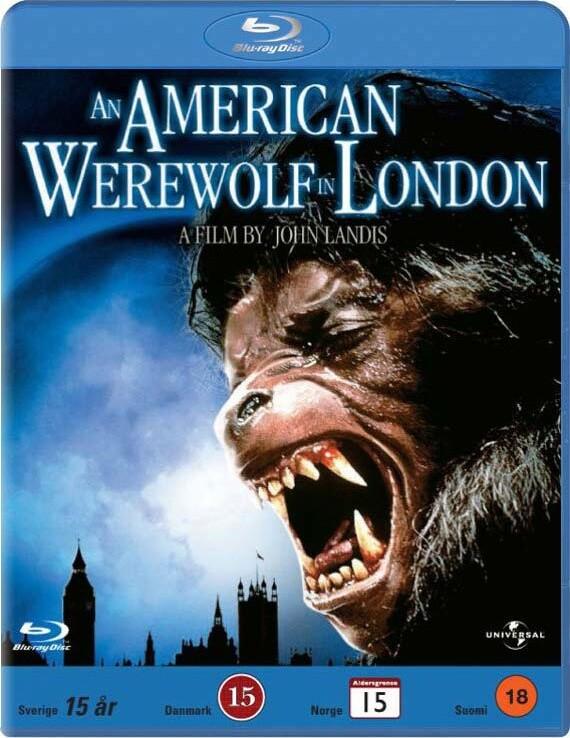 Image of   An American Werewolf In London / En Amerikansk Varulv I London - Blu-Ray