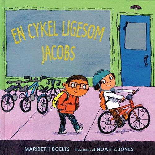 Billede af En Cykel Ligesom Jacobs - Maribeth Boelts - Bog