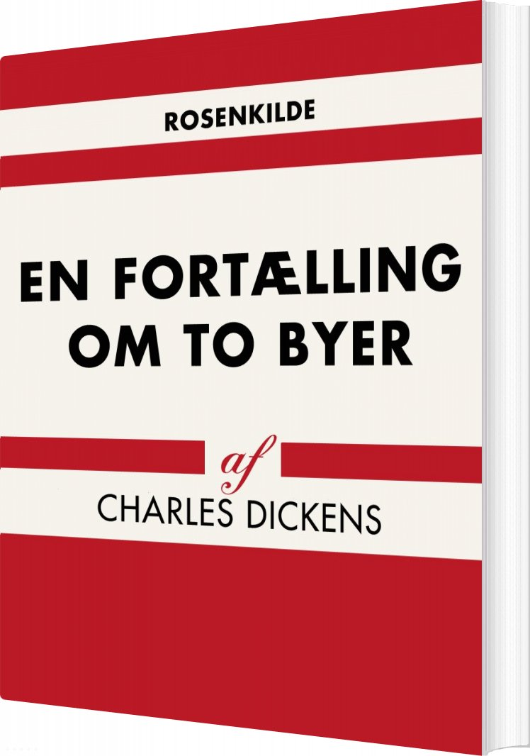 Billede af En Fortælling Om To Byer - Charles Dickens - Bog