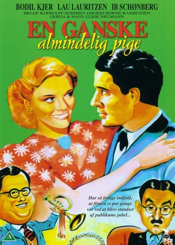 Image of   En Ganske Almindelig Pige - DVD - Film