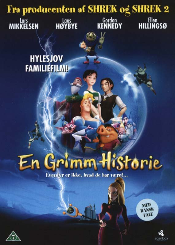 Billede af En Grimm Historie - DVD - Film