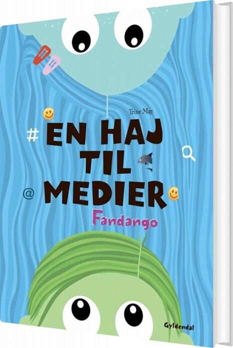 Image of   En Haj Til Medier - Trine May - Bog