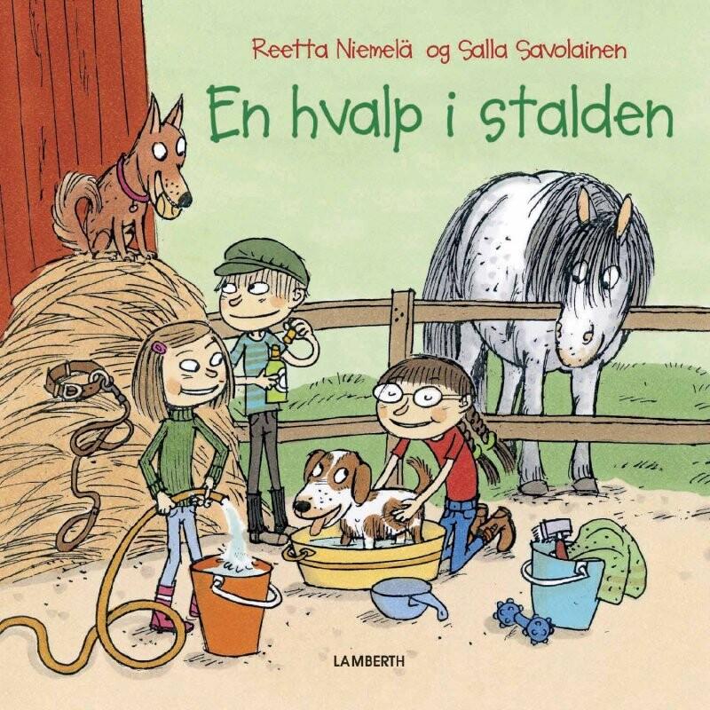 Image of   En Hvalp I Stalden - Reetta Niemelä - Bog