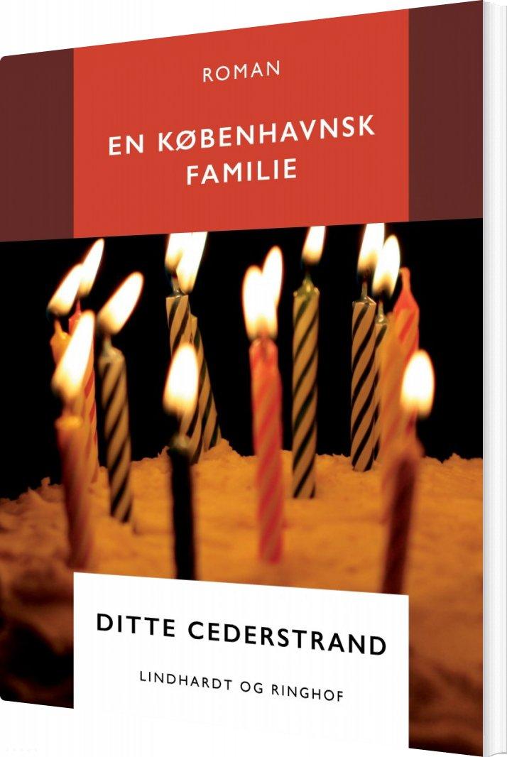 Image of   En Københavnsk Familie - Ditte Cederstrand - Bog