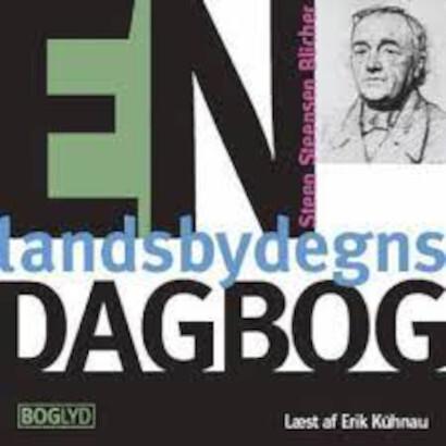 Image of   En Landsbydegns Dagbog - St. St. Blicher - Cd Lydbog
