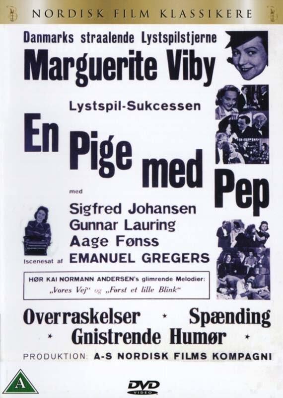 Image of   En Pige Med Pep - DVD - Film